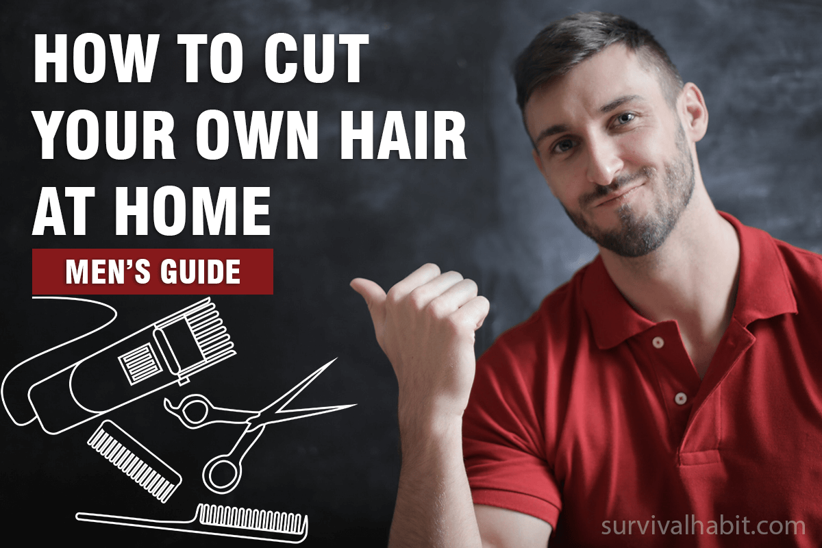 how to cut mens hair at home